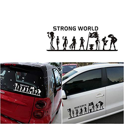 One Piece Group Car Stickers Calcomanías Puerta del coche Capó Car Styling Vinyl Auto Moto Sticker Accesorios del coche