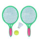 MLPNJ Raquette de Tennis de Plage Sports de Plein air pour Enfants Raquette de Tennis avec Fournitures de Raquette de Balle de Badminton Tennis Sports