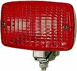HELLA 2NE 002 985-001 Feu antibrouillard arrière - P21W - 12V - Couleur du voyant: rouge - Montage en saillie - Fiche: Fiche plate - Endroit d'assemblage: arrière/gauche/droite