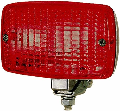 HELLA 2NE 002 985,001 Piloto antiniebla posterior , 12V , montaje exterior , Color de tulipa: rojo , Conector: Conector plano , posterioryizquierda y derecha