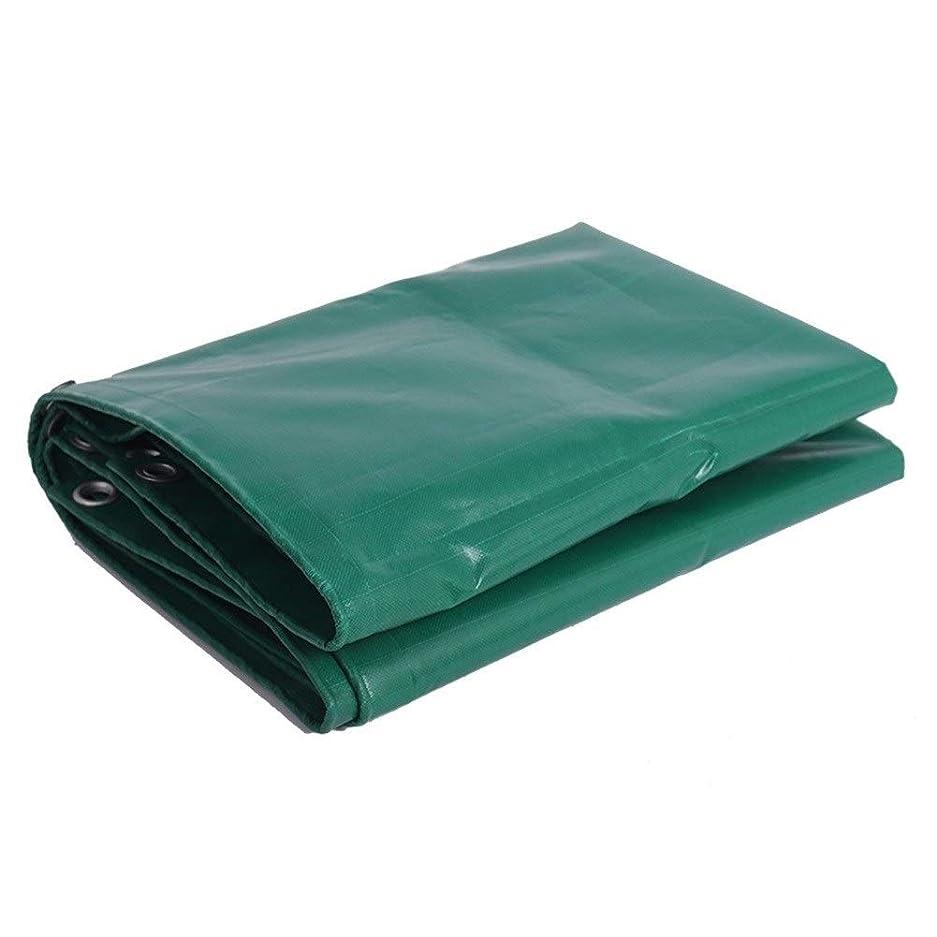 病なジョットディボンドンプロットFQJYNLY ターポリンターププラス太い角亜鉛メッキボタンホール日焼け止め屋外のガレージ、19サイズ (Color : Green, Size : 4X8m)