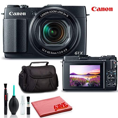 Canon PowerShot G1 X Mark II Digital Camera (International Model) - Deluxe Kit