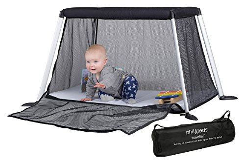 Find Discount phil&teds Traveller Crib, Black