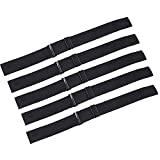 PIESOYRI 5PCS Adjustable Elastic Band for Wigs 14 Inches, Adjustable Wig Straps for Making Wig Glueless, Adjustable Wig Bands for Keeping Wigs in Place, Non-Slip Secure