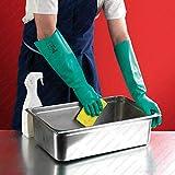 SAFEYURA Nitrile Gloves for Garden Soil Works Cleaning,Moisture Works, Solvent/Oil Chemical Resistant