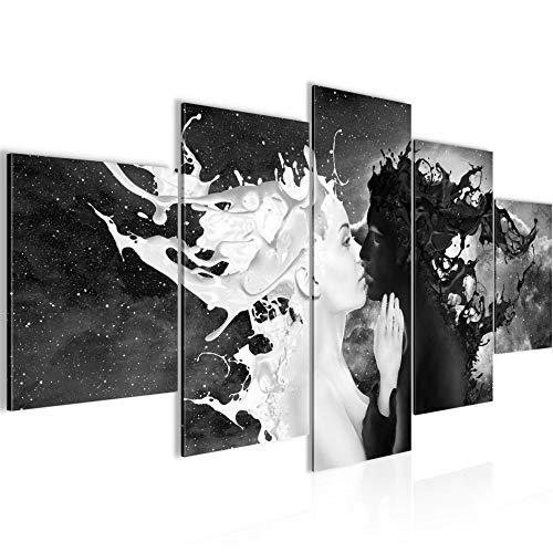 Bilder Milk und Coffee Wandbild Vlies - Leinwand Bild XXL Format Wandbilder Wohnung Deko Kunstdrucke - MADE IN GERMANY - Fertig zum Aufhängen 005053a