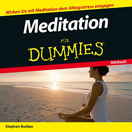 Meditation für Dummies audiobook cover art