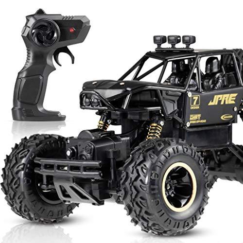 LIAJYOZ Macchina Telecomandata 4WD Bambini Ricaricabile Batteria Waterproof Rotazione Veloce Professionale Regalo Giocattolo Ribaltabile Radiocomandata Gara Sterrato Monster Truck