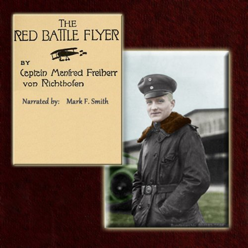 The Red Battle Flyer audiobook cover art