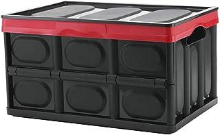 Z-SEAT Plastique Pliable Boîte De Rangement avec Couvercle, Organisateur Boîte pour Bas Lit, Vêtements Boîte De Rangement,...