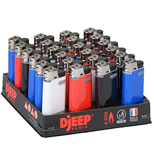 24 Classic Djeep Slant Tray Lighters
