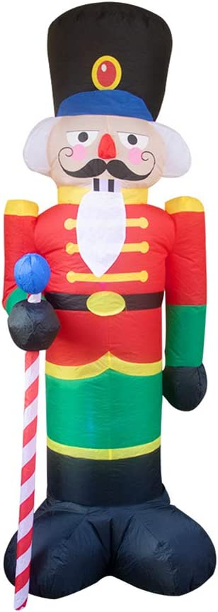 Ranking TOP18 SAIrch Super-cheap Christmas Inflatable 7.9 FT Soldier Blow-Up Lighted Yard