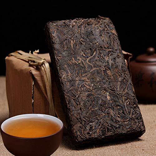 Old 250g (0.55LB) Puer Black Tea Premium Aged Pu Er Tea Te rojo Puerh Tea Puer tea Puer tea Te chino Te maduro shu cha Comida sana Pu-erh Tea Comida verde Árboles viejos Pu erh te cocido