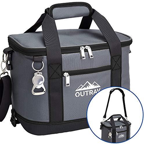 Black Insulated Cooler Bag