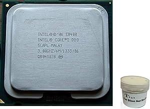 Combo Intel Core 2 Duo3 Ghz E8400 Processor (Tray) + 15g Heat Sink Compound