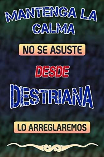 Pas de panique, nous allons le réparer depuis Destriana lo arreglaremos: Cuaderno | Diario | Diario | Página alineada