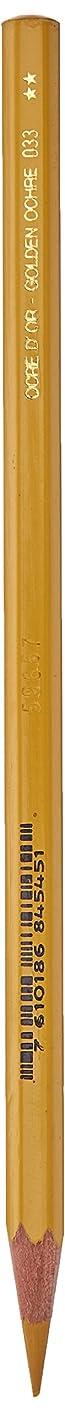 Caran D'ache Supracolor Watersoluble Pencil, Golden Ochre (3888.033)