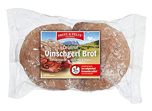 Original Vinschgerl Brot handgemacht Karton 10 x 300 gr. - Fritz & Felix