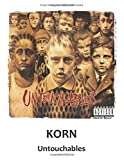 Korn Untouchables: Guitar Tab Notebook