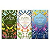 Pukka Herbs Confezione Bundle di Tisane Biologiche Le Collections - Green Collection, Day to Night Collection e Herbal Collection
