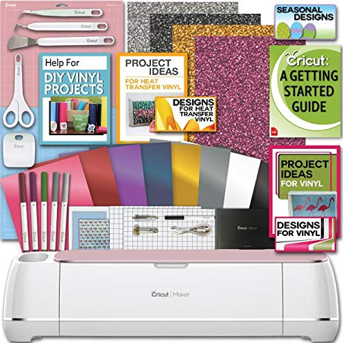Cricut Maker Machine Bundle 1 Beginner Cricut...