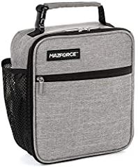 GRIP YOUR LUNCHBOX WITH CONFIDENCE - Seize the day with this unique tough & modern insulated lunch box. The design is built with the office gladiator, weekend warrior in mind - combined with a laid-back California vibe, so you can meet everyday chall...