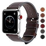Fullmosa Für Apple Watch Armband 5 38mm(Series 4 40mm,Leder Ersatzband/Armbänder für iwatch Apple...
