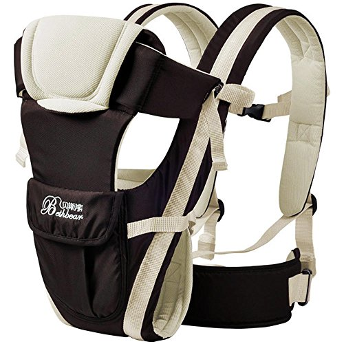 réglable Porte-bébé Boucle en maille Wrap de sécurité Infant Sling Sac à dos Multipurpose