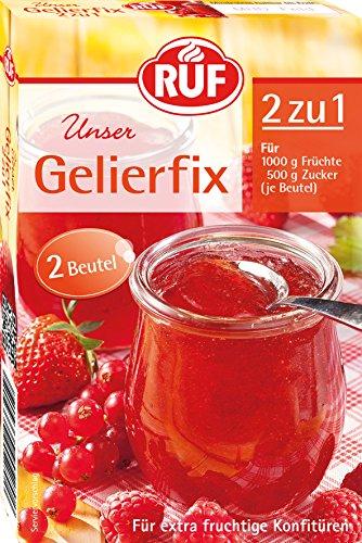 RUF Gelierfix Einmachhilfe 2zu1, 17er Pack (17 x 2 Beutel)