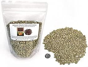 Brazil Adrano Volcano Coffee, Green Unroasted Coffee Beans (1 LB)