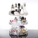 D.RoC Acryl Makeup Organizers Cosmetics Aufbewahrungsbox Ausstellungsstand für Essenz, Lotion, Creme für Bad & Schminktisch