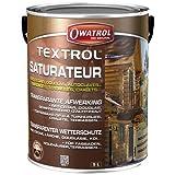 Owatrol - Textrol - 5,0 L - Incolore - Saturateur - Spécial pour Bois Tendres - 802