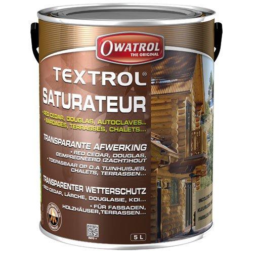 Owatrol Textrol Outdoor Holzlasur für weiche 5 Liter Farblos
