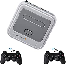 Kinhank 4K HDMI Output Classic Game Consoles Built-in 33,000+ Games 50+Emulators,Retro Game Console with 2 Gamepads,Update...