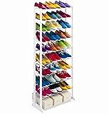SHOP STORY - Meuble Organisateur Range Chaussures 25/30 Paires Étagère Placard...