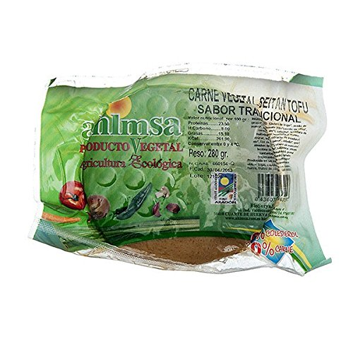 Ahimsa Seitan Tofu Tradicional Bio 280 Gr Vegano 280 Gramos 280 ml
