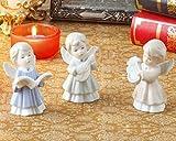 Estatuas Y Figuras Adornos Preciosa Porcelana Música Ángel Bebé Estatua Set Cerámica Decoración Regalo Y Artesanía Ornamento Accesorios Adornos