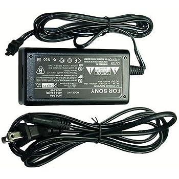 AC Adapter for Sony DCR-SR62E ac Sony DCRSR72E Sony DCR-SR72E ac Sony DCRSR62E ac