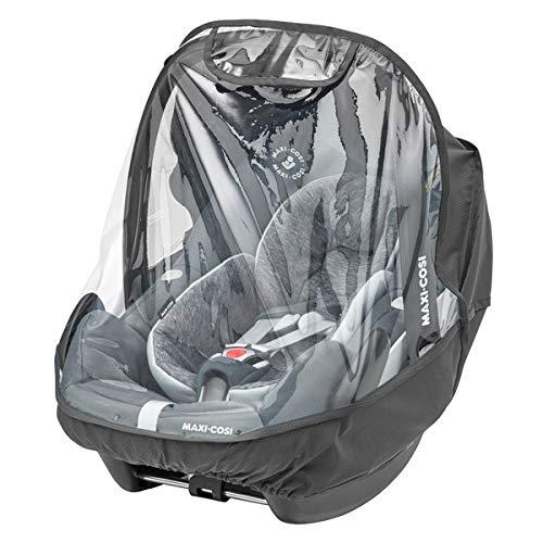 Maxi-Cosi Universal Regenschutz für Babyschalen, passend für Baby-Autositze wie Maxi-Cosi Rock, Pebble Plus und Pebble Pro, Citi, Cabriofix und auch Babyschalen anderer Marken, transparent