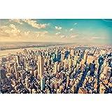 WUJINJ Adult 1000 Stück Holz Puzzle pädagogisches Spielzeug-Geschenk Schöne Stadt-Landschaft New York, USA (Size : 520PC)