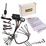 MPC Complete 2 Way LCD Remote Start Kit with Keyless Entry for 2003-2007 GMC Yukon - Prewired - Firmware Preloaded