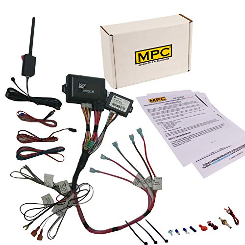 MPC 2 Way LCD Remote Start Kit with Keyless Entry for 2003-2006 Chevrolet Silverado 2500 HD - Prewired - Firmware Preloaded