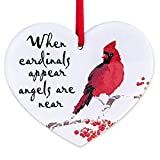 WaaHome Memorial Christmas Ornaments Red Cardinal Christmas Tree Ornaments Tree Decorations
