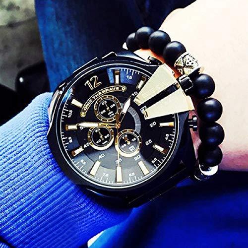 Cooles großes Zifferblatt DZ Mode Gezeiten Uhr wasserdicht Herrenuhr Sport Chronograph Uhr Casual Uhr Herrenuhr-2
