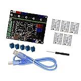 Accesorios de la impresora Placa base del controlador+5pcs TMC2208 Driver Set para la impresora 3D