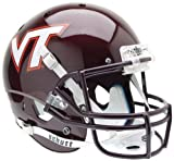 VIRGINIA TECH HOKIES Schutt AiR XP Full-Size REPLICA Football Helmet VT