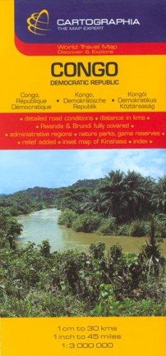 Mapa Cartographia Congo (CARTES (19300)) (French Edition)
