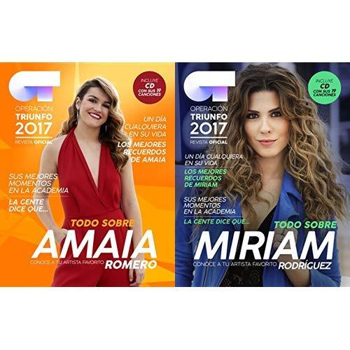 Pack Amaia Romero: OT 2017 Sus canciones + Miriam Rodriguez: OT 2017 Sus canciones