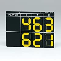 トーエイライト TOEI LIGHT 学校機器設備用品 テニススコアボード3 B3977