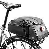 Bolsa de Asiento Trasero Alforjas asiento de bicicleta paquete bolso de la bicicleta bolsa de montar de la bici bici del bolso bolsa de carga ciclo de la bici bolsa de almacenamiento para Exteriores